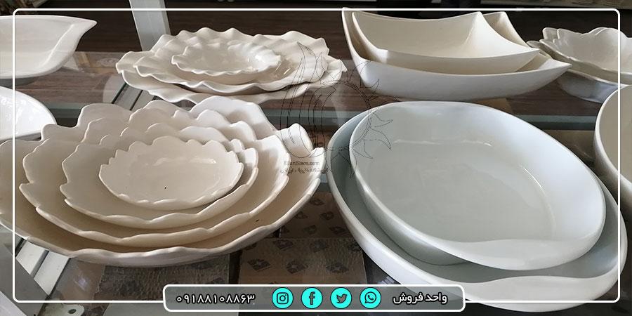 فروش عمده ظرف سرامیکی از کارخانه تولیدی