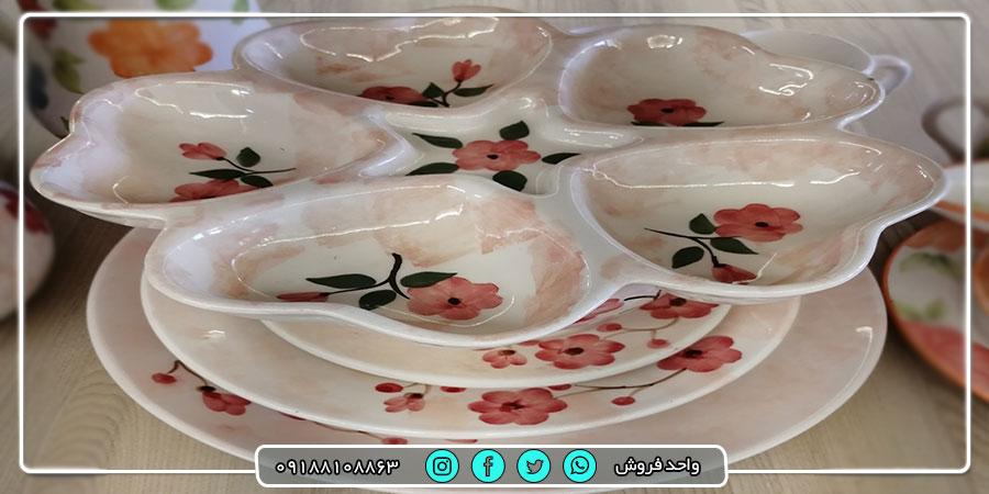 پخش عمده ارزانترین ظروف سرامیکی درجه یک از تولیدی