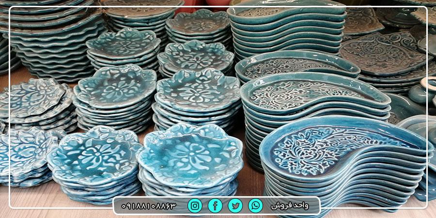 فروش عمده ظروف هفت سین و تزئینی با قیمت ارزان
