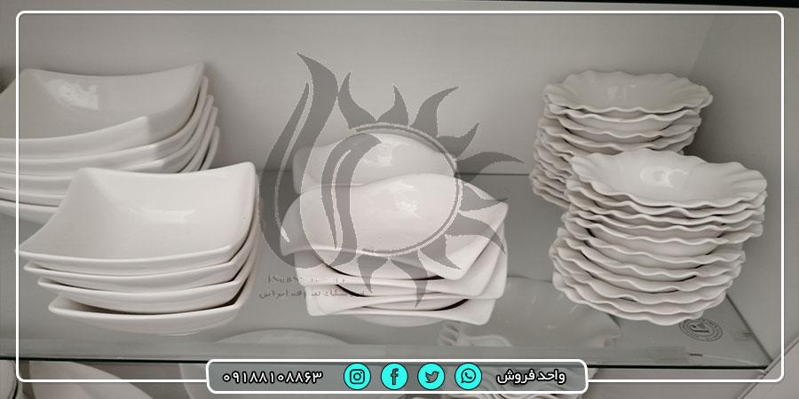 خرید انواع ظروف آشپزخانه سرامیکی از تولیدی