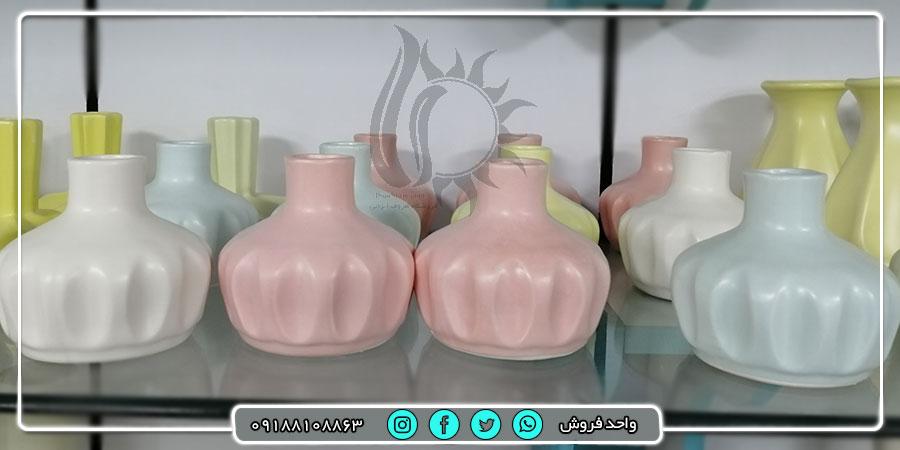 خرید عمده و ارزان انواع گلدان های رومیزی جدید