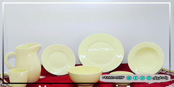 ظروف سرامیکی رنگی رنگی